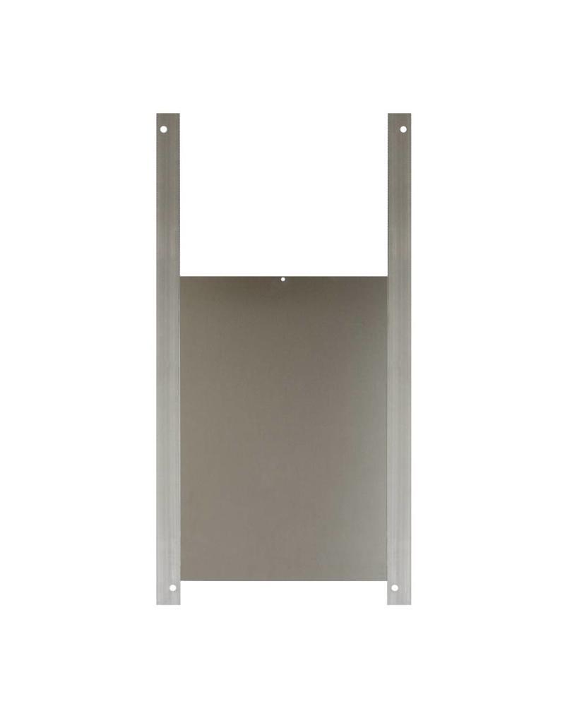 Aluminium schuifdeurtje - 22 x 33cm