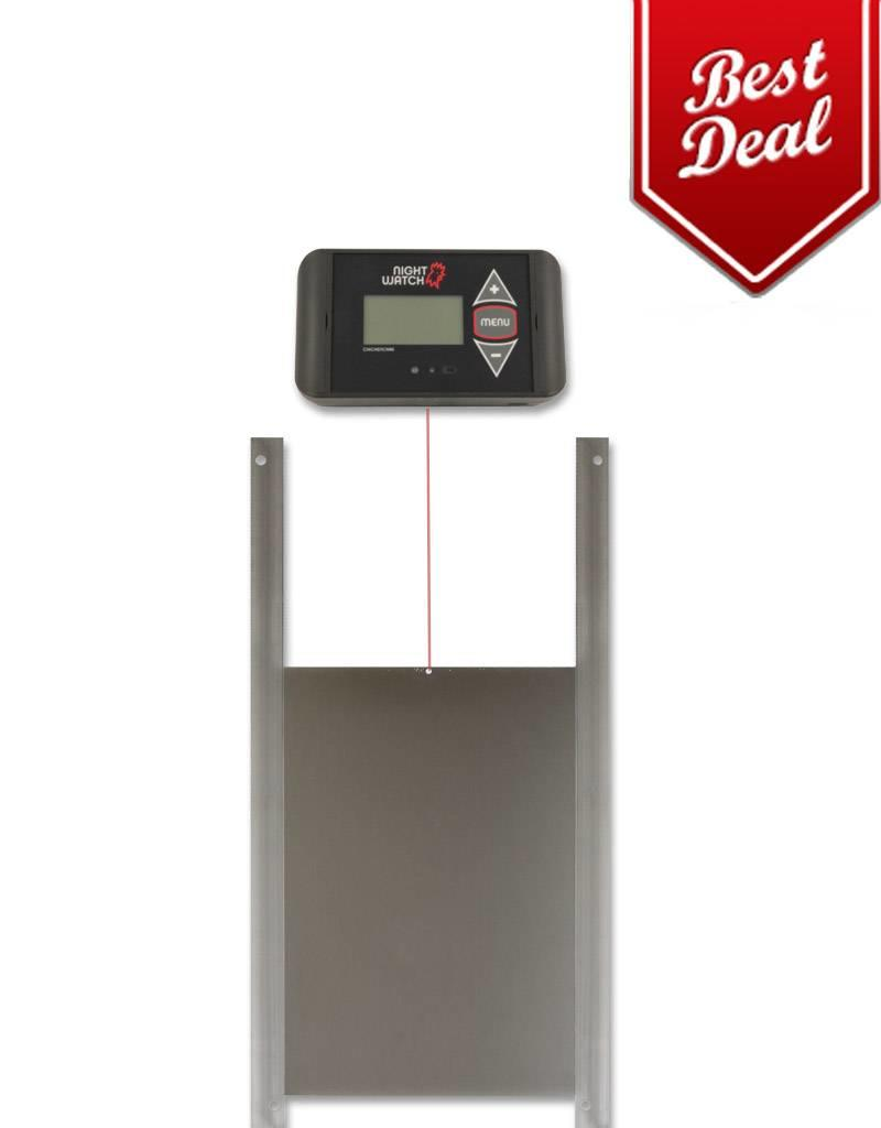 ChickenCare Porte Poullailler Nightwatch + porte