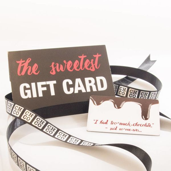 CHOCOLATE GIFTCARD 25€