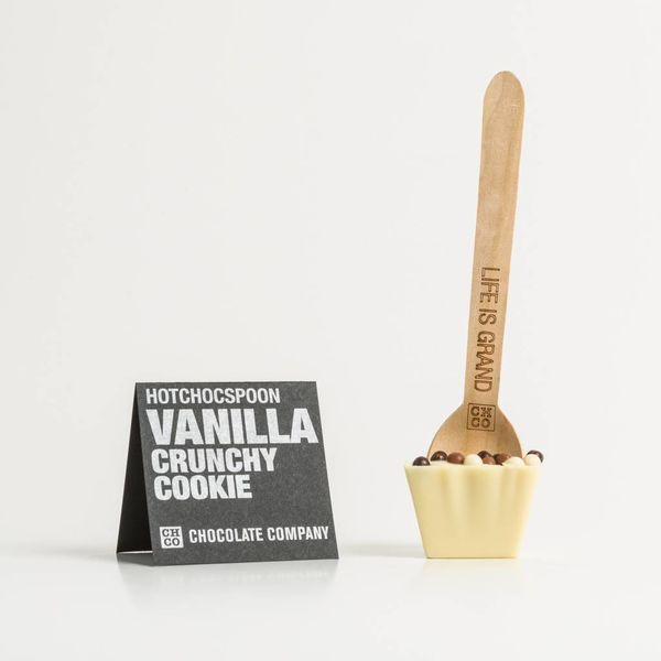 VANILLA CRUNCHY COOKIE SPOON