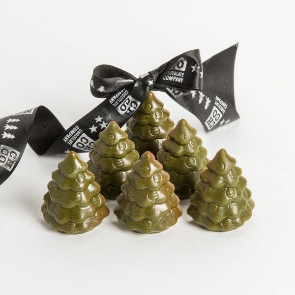 Praliné Christmas trees