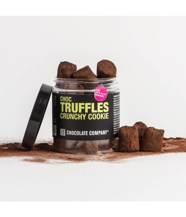 MIX CHOCOLATE TRUFFLES CRUNCHY COOKIE
