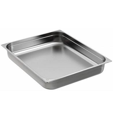 Saro Gastronorm Behälter Edelstahl GN 2/1 T20