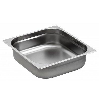 Saro Gastronorm Behälter Edelstahl GN 2/3 T55