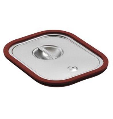 Saro Gastronormbehälter - Deckel mit Gummiabd. GN 1/6