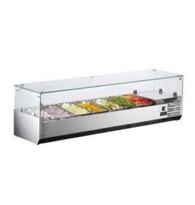 Saro Aufsatzkühlvitrine Modell METTE VRX 1600