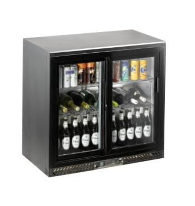 Saro Bar Cooler mit Schiebetüren SC 250 SD