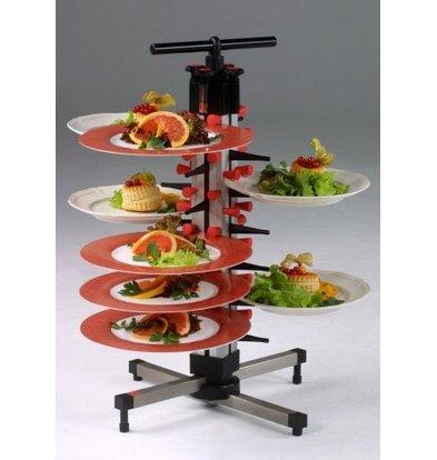 Saro Tellerstapler Tischmodell Plate Mate TM-24