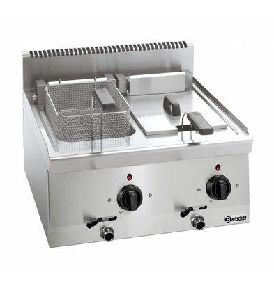 Bartscher Elektro Fritteuse - 2 x 8 Liter - Serie 600