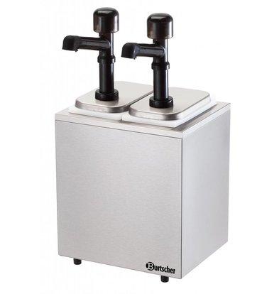 Bartscher Pumpstation,2 Pumpen 2x3,3L