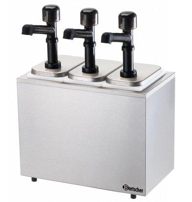 Bartscher Pumpstation,3 Pumpen 3x3,3L