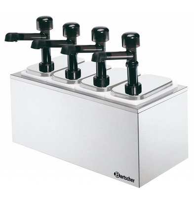Bartscher Pumpstation,4 Pumpen 4x3,3L