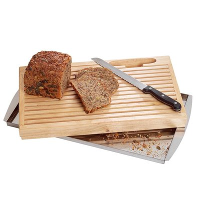 Bartscher Schneidbrett, Brot, mit Messer