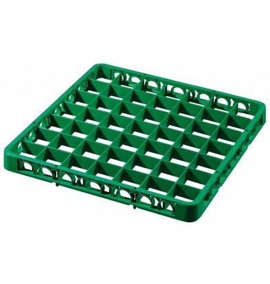 Bartscher Spülkorbteiler 49, 460x460x45, grün