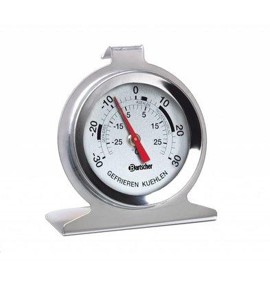 Bartscher Kühlschrankthermometer -30 - +30°C