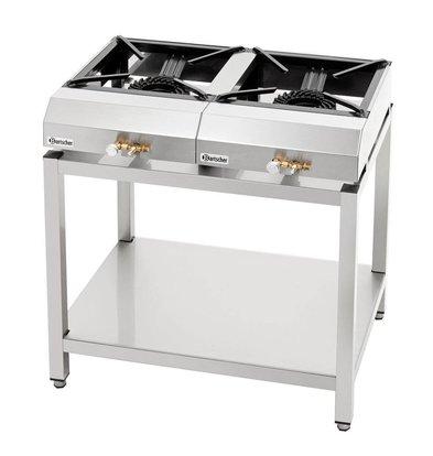 Bartscher Gas-Tischkocher-Set