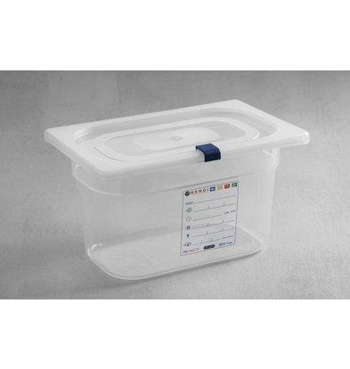Hendi Aufbewahrungsbehälter set GN 1/4 - 200 mm