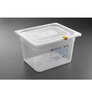 Hendi Aufbewahrungsbehälter set GN 1/2 - 200 mm