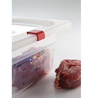 Hendi Gastronormdeckel plastic GN 1/6