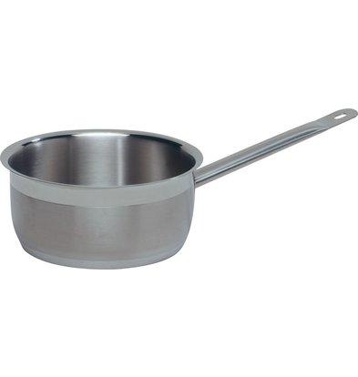 Hendi Stielkasserolle - ohne Deckel Ø140 mm | 1.2 Liter