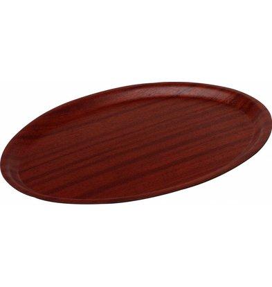 Hendi Serviertablett Woodform - Mahagonifarben - 290 x 210 mm