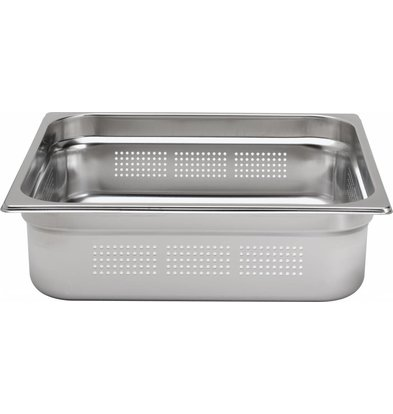 Hendi Gastronorm Behälter 2/3 perforiert - 65 mm