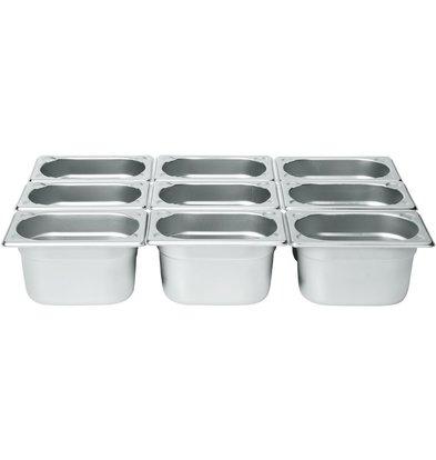 Hendi Gastronorm Behälter 1/9 65 mm