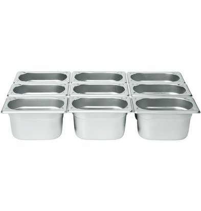 Hendi Gastronorm Behälter 1/9 100 mm