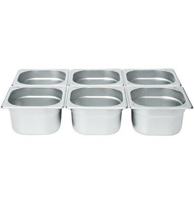Hendi Gastronorm Behälter 1/6 100 mm