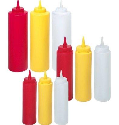 Hendi Spenderflasche für Saucen gelb 35 cl