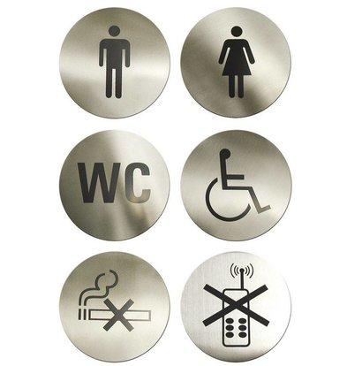 Hendi Türschild Toilette