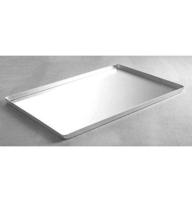 Hendi Vitrinenblech Silber 400x300 mm