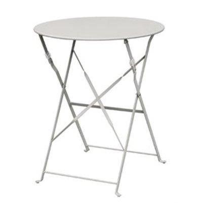 Bolero Bolero klappbarer Stahltisch rund 60cm grün