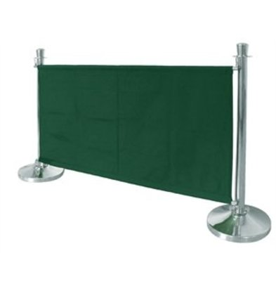 Bolero Bolero Segeltuch-Abschirmwand grün