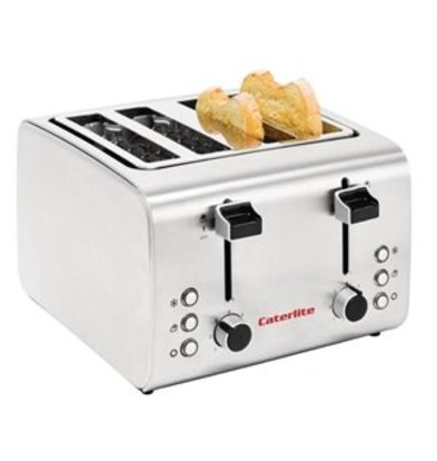 XXLselect Caterlite Toaster 4 Schlitze