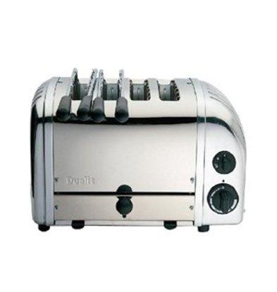 XXLselect Dualit Kombi-Toaster aus Edelstahl