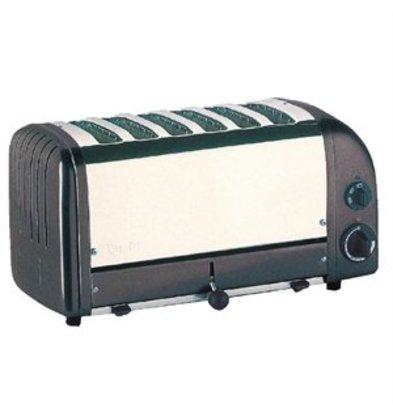 XXLselect Dualit Vario Toaster grau 6 Schlitze