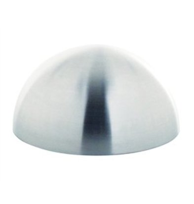 XXLselect Halbkugel-Form Ø 8cm Edelstahl