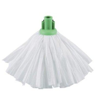 XXLselect Jantex weißer Moppkopf mit grüner Fassung