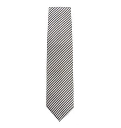 Chef Works Krawatte silber gestreift