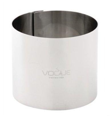 XXLselect Mousse-Ring Edelstahl 90x35mm