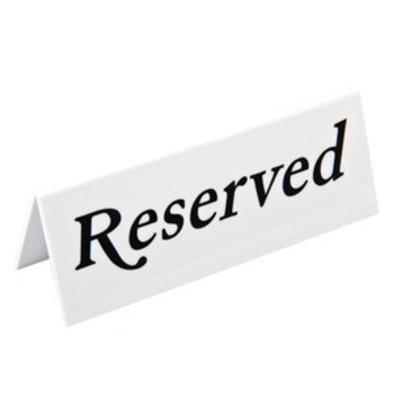XXLselect Olympia Kunststoff Tischschilder Reserviert
