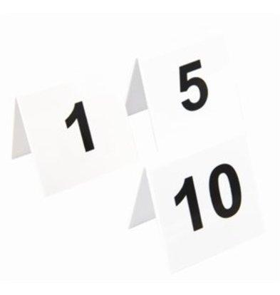 XXLselect Olympia Tischnummernschilder 1-10