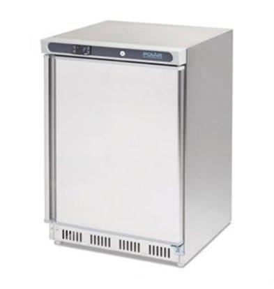 XXLselect Polar Edelstahl Kühlschrank 150Ltr