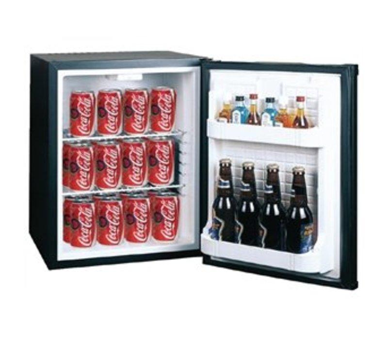 Polar Minibar Kühlschrank 30 Liter schwarz