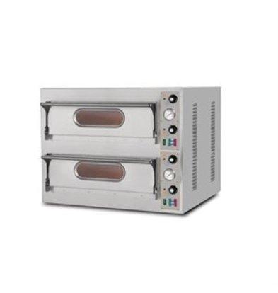 XXLselect Resto Italia Pizzaofen mit zwei Backkammern