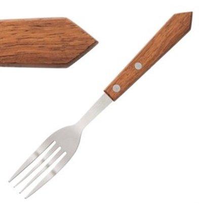 XXLselect Steakgabel Holzgriff