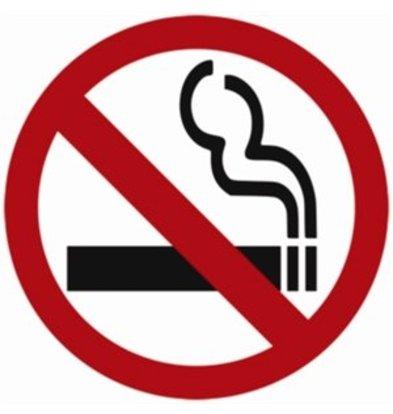 XXLselect Vogue Rauchverbot Schild für Fenster