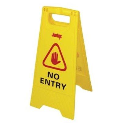 """Jantex Warnaufsteller """"No entry"""""""