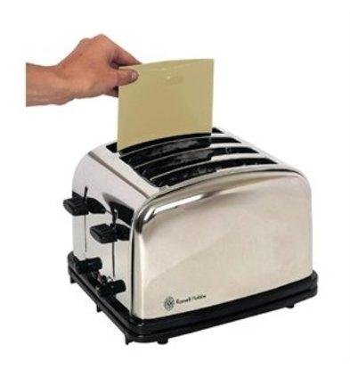 XXLselect Wiederverwendbare Toastertüten